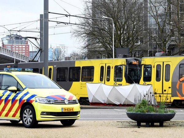 The site of accident in Utrecht, Netherlands