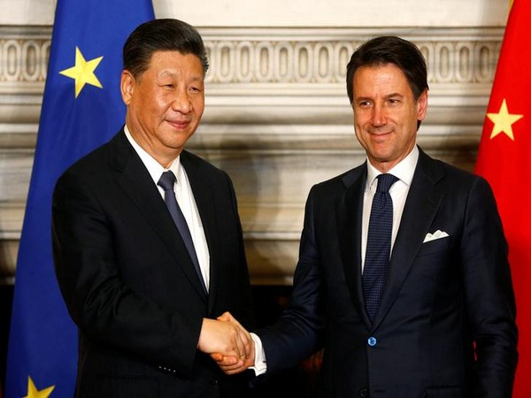 Italian Prime Minister Giuseppe Conte and Chinese President Xi Jinping