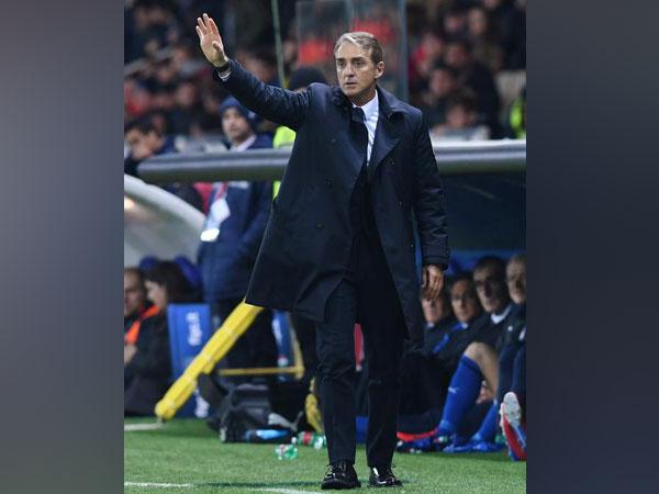 Italy head coach Roberto Mancini (file image)