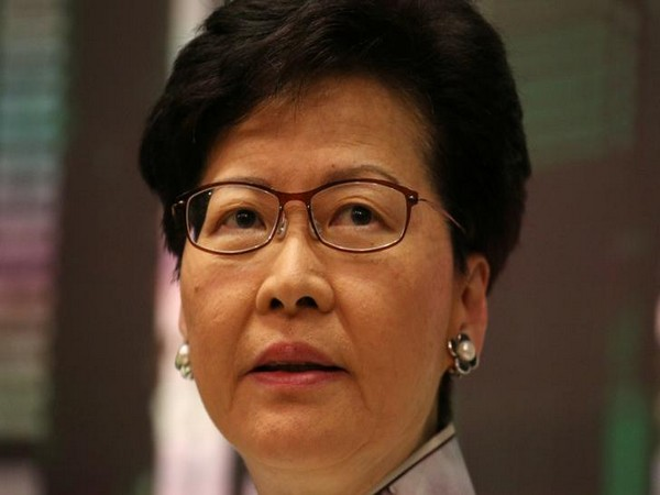 Hong Kong's embattled leader Carrie Lam (File photo)
