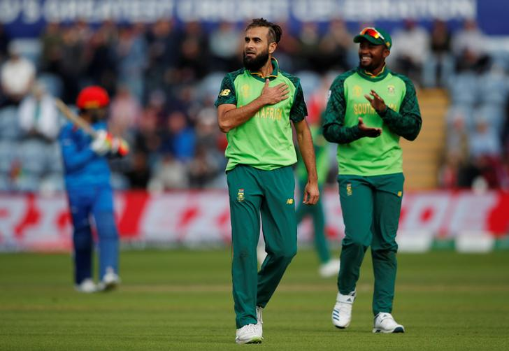 South Africa beat Afghanistan by nine wicket here on Sunday.