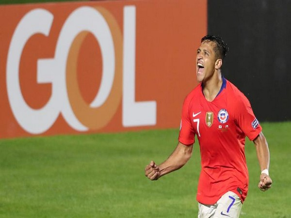 Chile player Alexis Sanchez