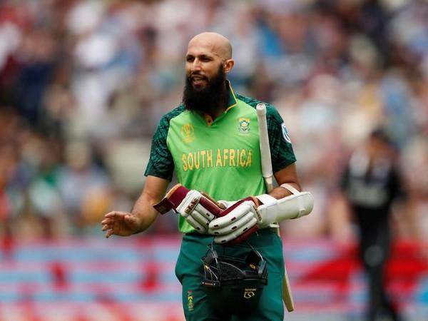 South African batsman Hashim Amla