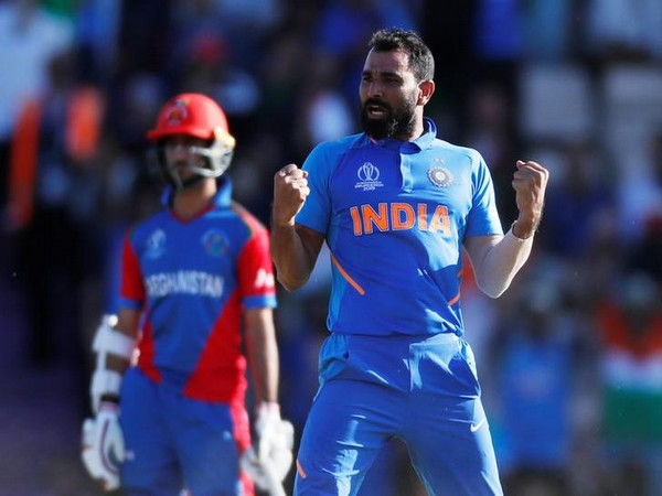India pacer Mohammed Shami