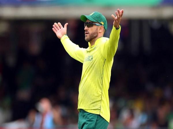 South Africa skipper Faf du Plessis