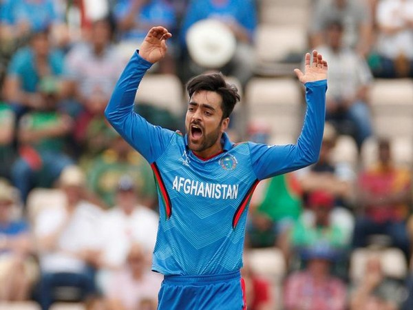 Afghanistan spin bowler Rashid Khan