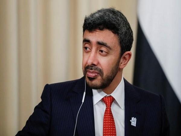 UAE Foreign Minister Sheikh Abdullah bin Zayed bin Sultan Al Nahyan