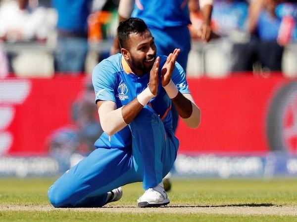 India all-rounder Hardik Pandya