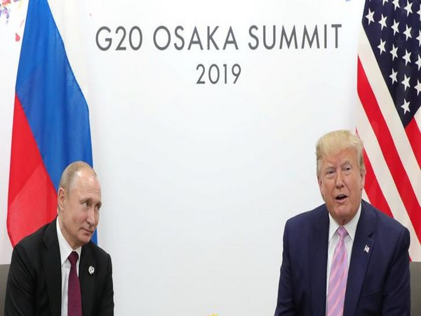 Russia President Vladimir Putin and US President Donald Trump