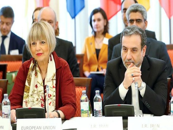 Iran's top nuclear negotiator Abbas Araqchi and Secretary General of the European External Action Service (EEAS) in Vienna on Friday