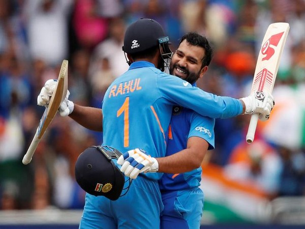 India batsmen KL Rahul and Rohit Sharma