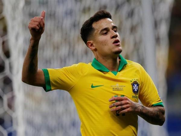 Brazil midfielder Philippe Coutinho