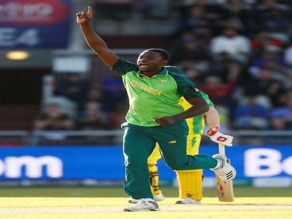 South African pacer Kagiso Rabada