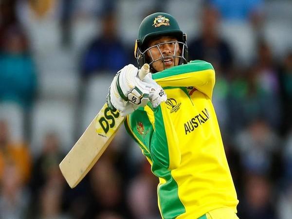 Australia's batsman Usman Khawaja
