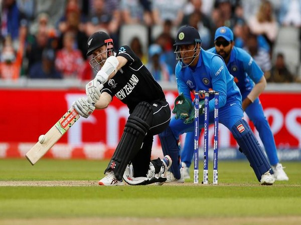 New Zealand skipper Kane Williamson in action against India
