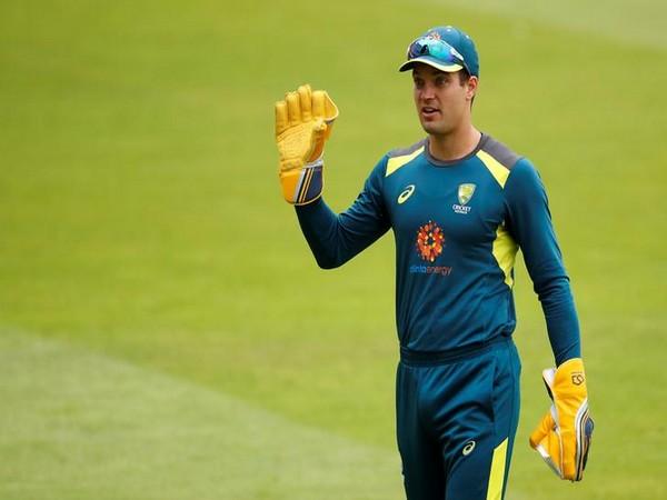 Wicket-keeper batsman Alex Carey
