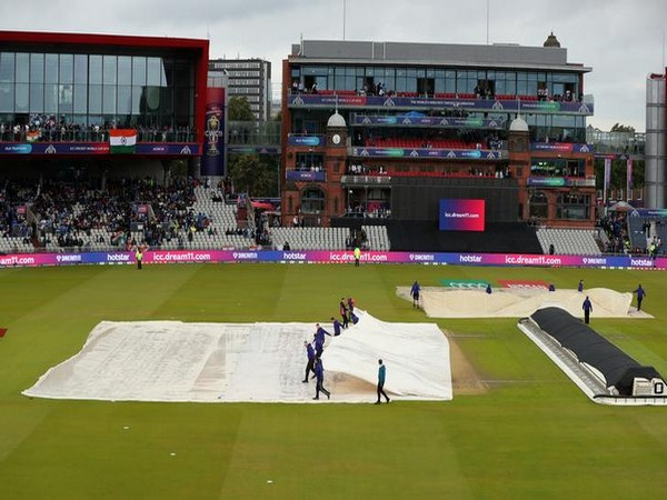 Rain plays spoilsport during India's World Cup semi-final clash against New Zealand in Manchester on Tuesday.