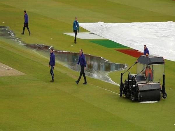 Rain halts semi-final match between India and New Zealand at Old Trafford