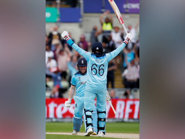 England registered a eight-wicket victory over Australia in the World Cup's second semi-final here at Edgbaston.