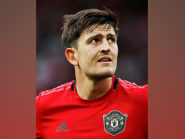 Manchester United's defender Harry Maguire