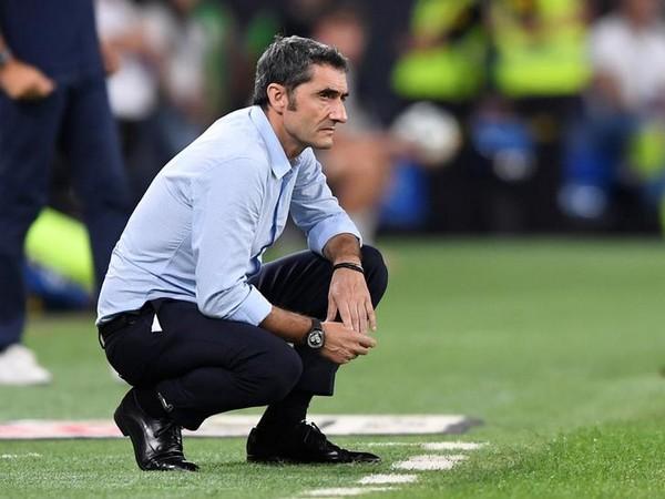 Barcelona manager Ernesto Valverde