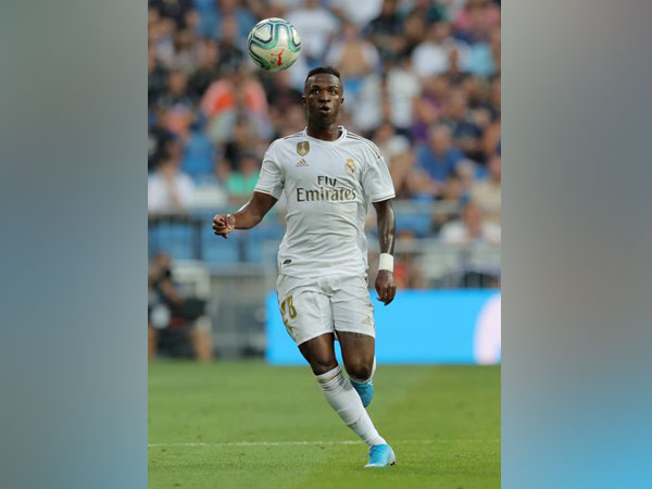 Real Madrid's Vinicius Junior