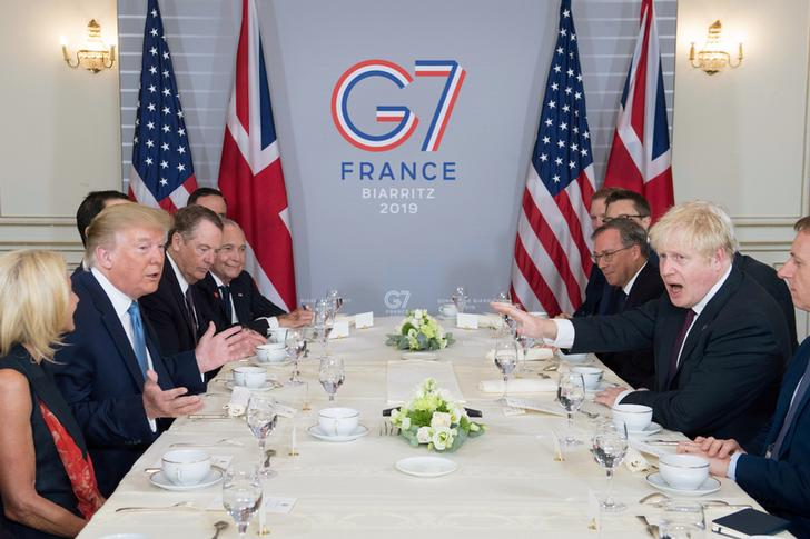 US President Donald Trump and UK Prime Minister Boris Johnson