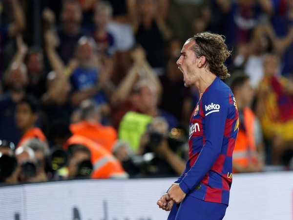 Barcelona's Antoine Griezmann