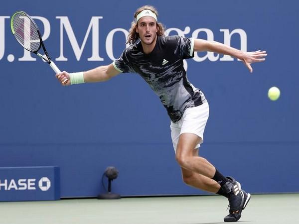 Greece's tennis player Stefanos Tsitsipas