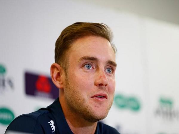 England fast bowler Stuart Broad