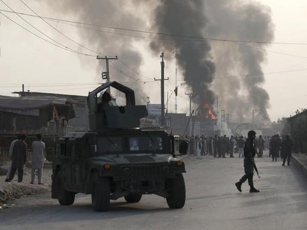 Truck bomb blast in Kabul.