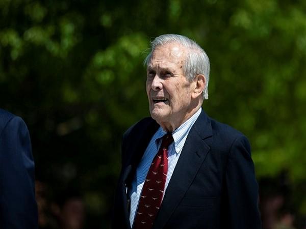 Former US Secretary of Defense Donald Rumsfeld (Photo Credit: Reuters)