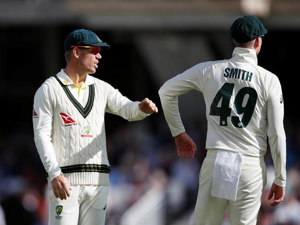 David Warner and Steve Smith during Ashes 2019