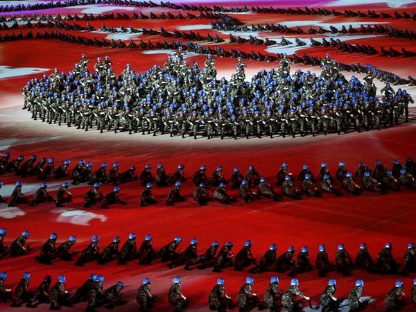 Opening ceremony of the 7th CISM Military World Games in Wuhan