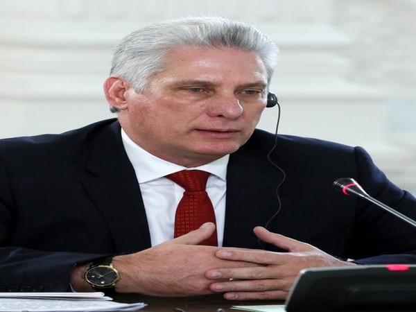 Cuba's President Miguel Diaz-Canel