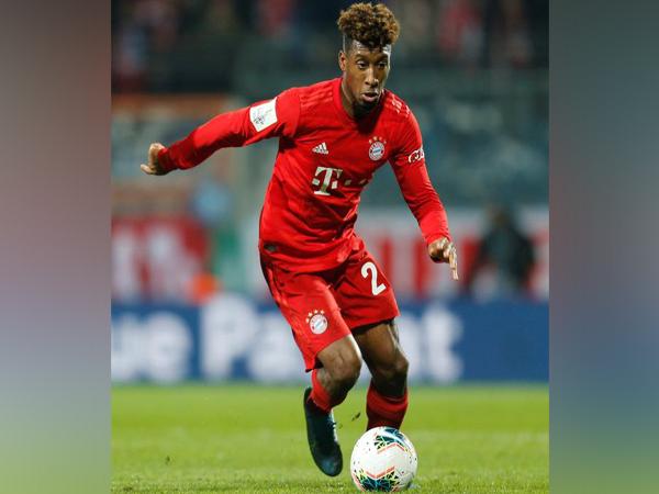 Bayern Munich's Kingsley Coman