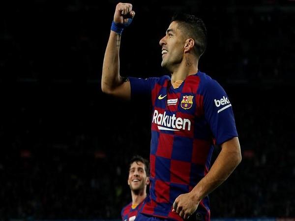 Barcelona's Luis Suarez.