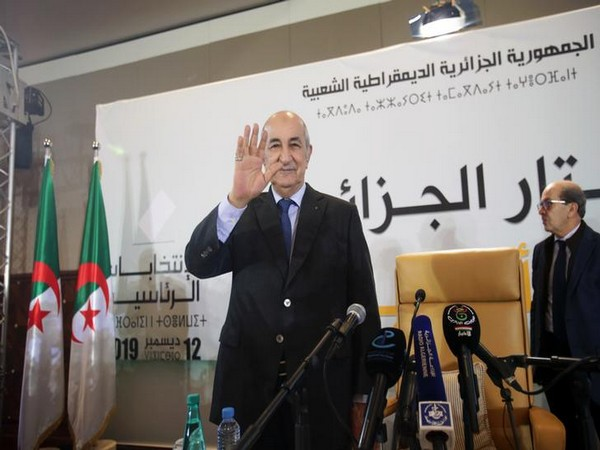 Newly elected president Abdelmadjid Tebboune