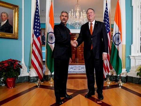External Affairs Minister S Jaishankar and US Secretary of State Michael Pompeo  (file photo)