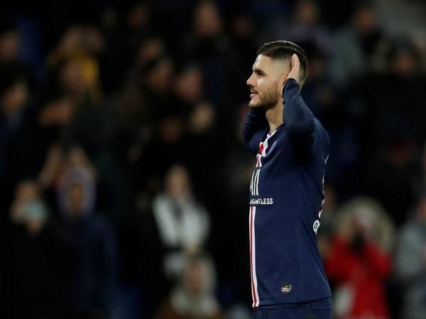 Paris Saint-Germain striker Mauro Icardi