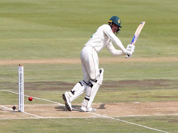 South Africa's Quinton de Kock in action against England