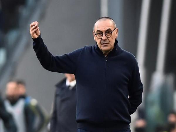 Juventus manager Maurizio Sarri.