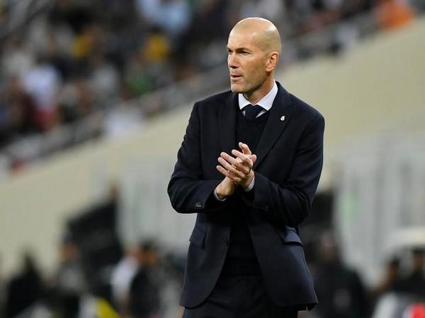 Real Madrid's manager Zinedine Zidane