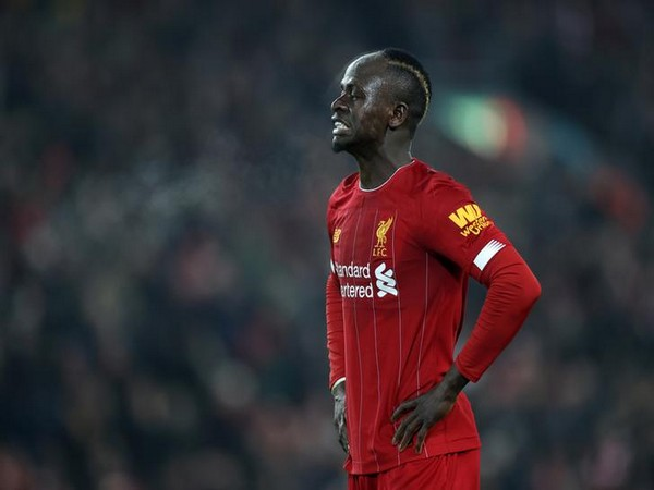 Liverpool striker Sadio Mane