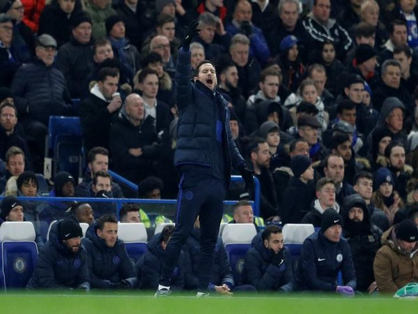 Cheslea manager Frank Lampard