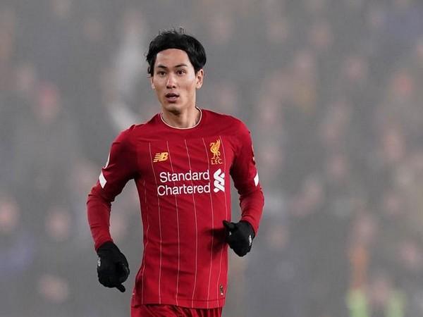 Liverpool midfielder Takumi Minamino (file image)