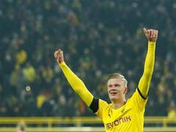 Borussia Dortmund's Erling Haaland.