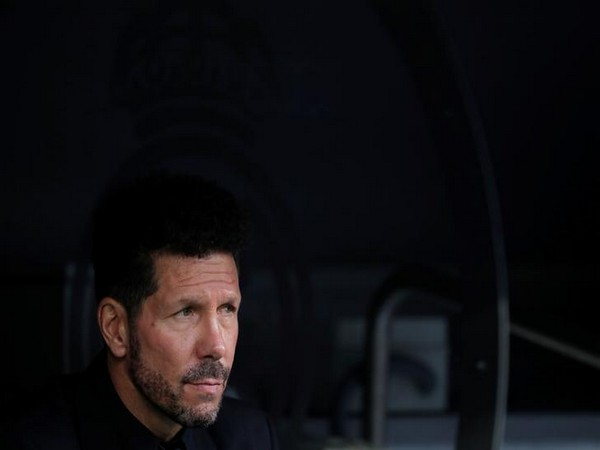 Atletico Madrid coach Diego Simone