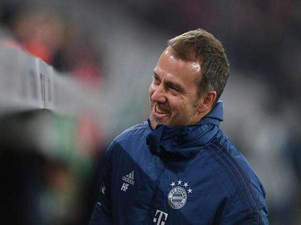 Bayern Munich manager Hansi Flick.