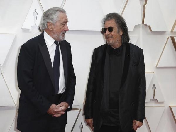 Robert De Niro and Al Pacino on red carpet of Oscars 2020.